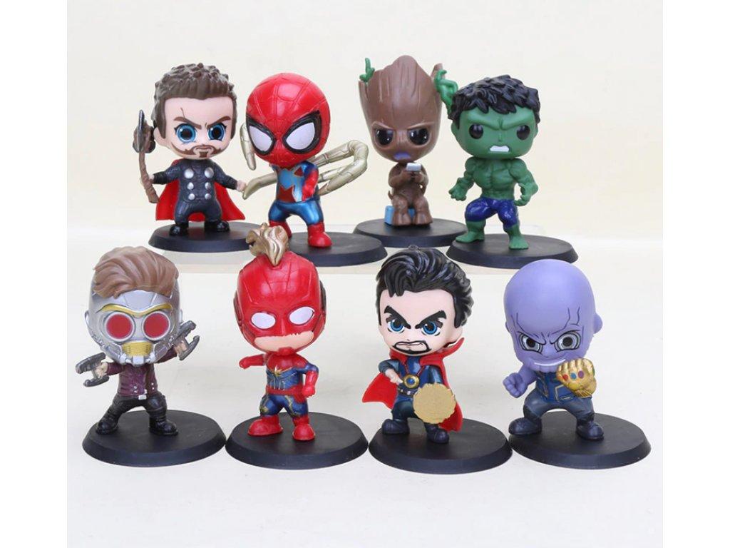 Set figurek Avengers 8ks