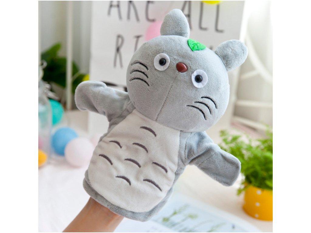 Plyšový maňásek na ruku - Kočička