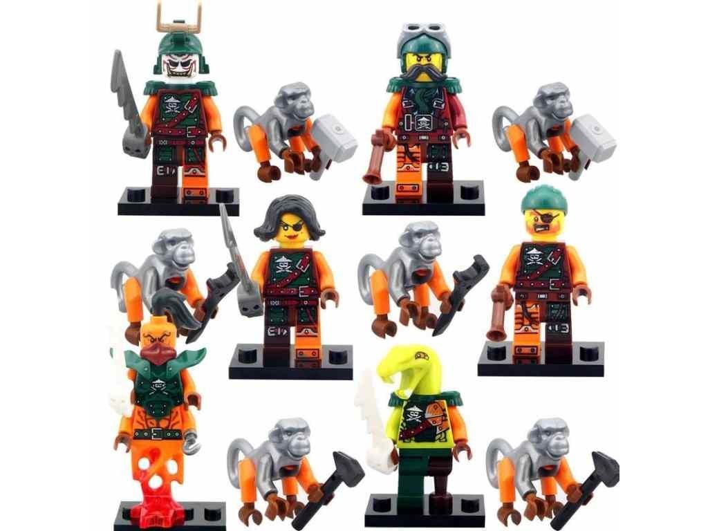 Figurky Ninja k Lego 12 ks