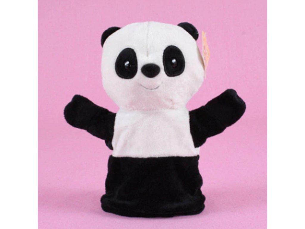 Plyšový maňásek na ruku - Panda