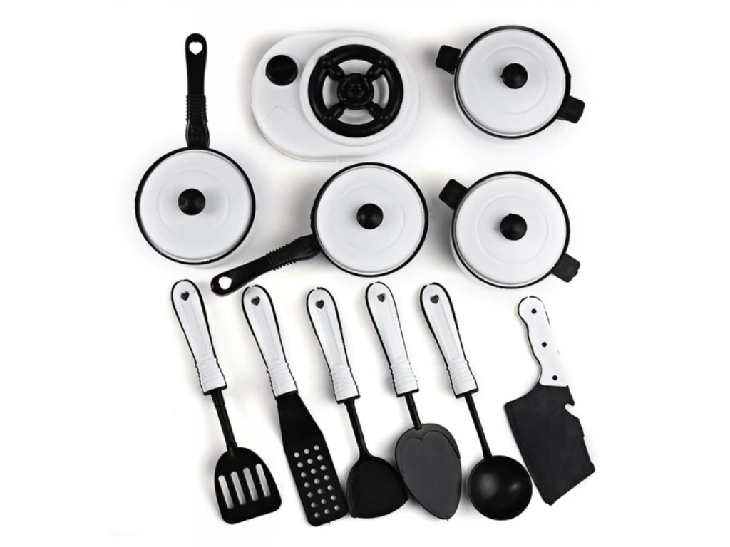 Sada plastového kuchyňského nádobí 11ks
