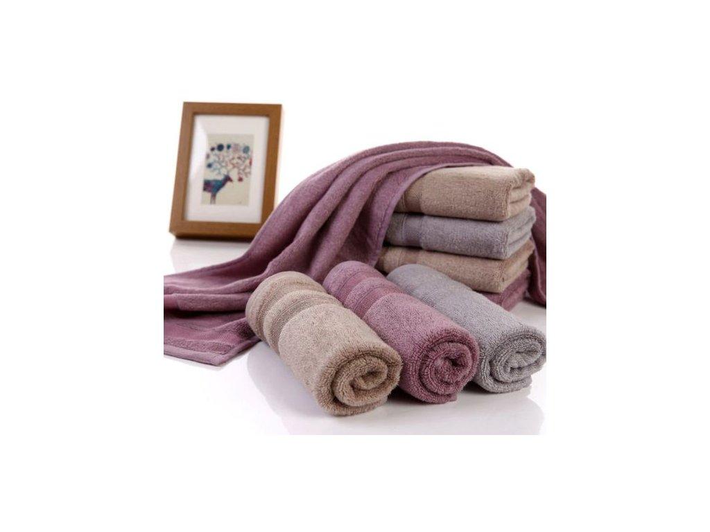 Velký ručník jednobarevný - 3 barvy