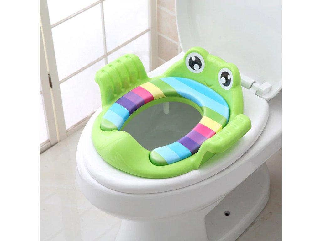 Dětské sedátko na WC - 3 barvy