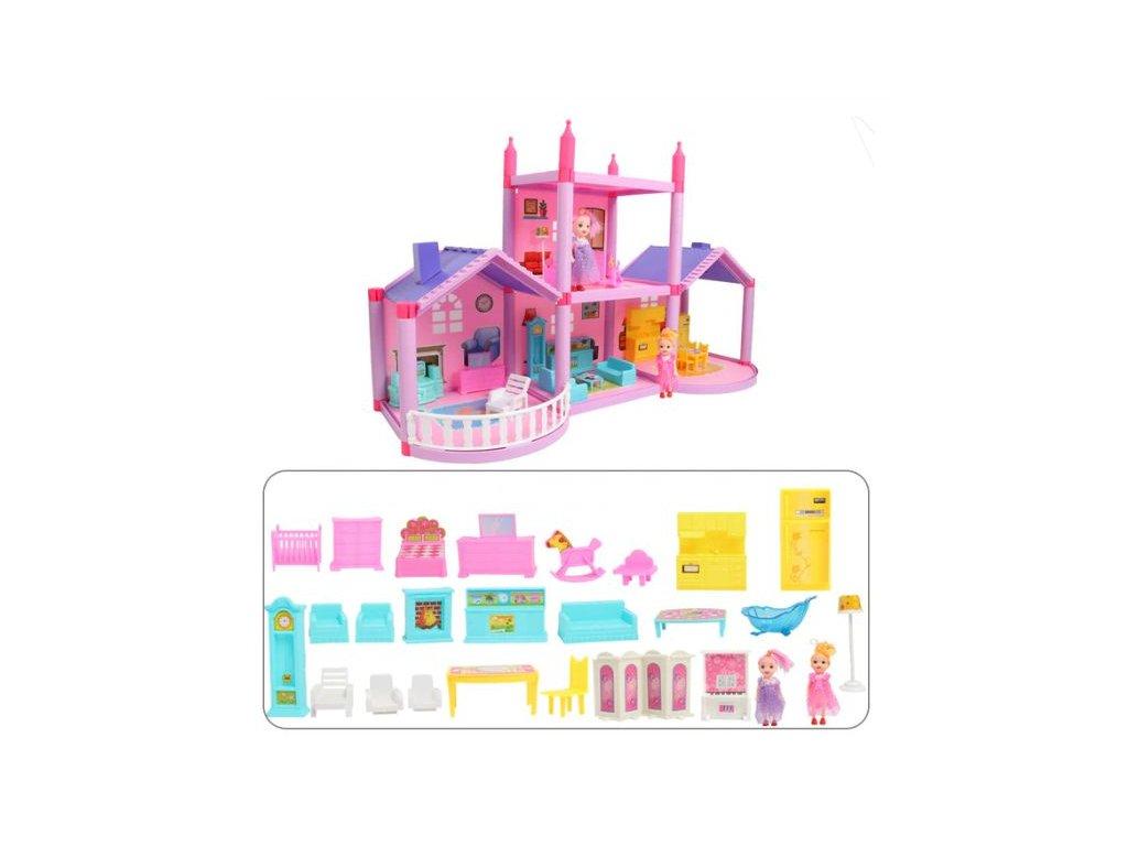 Dům pro panenky - 8 variant