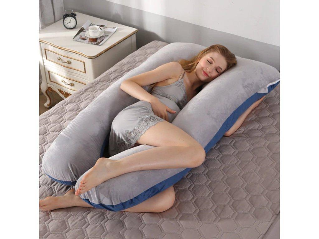 Těhotenský polštář - 25 variant