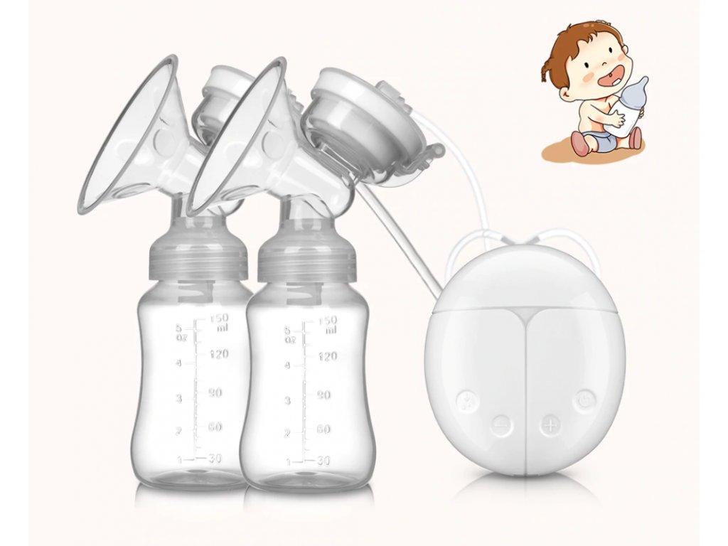 Elektrická odsávačka na mléko