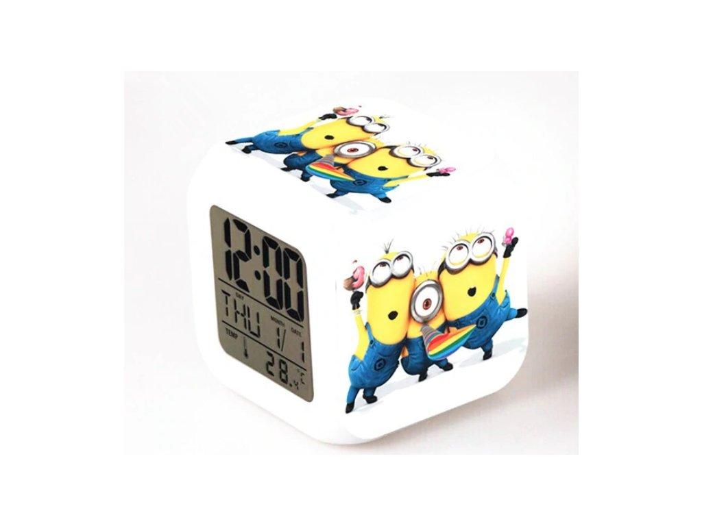 Digitalní hodiny - Mimoni - různé varianty