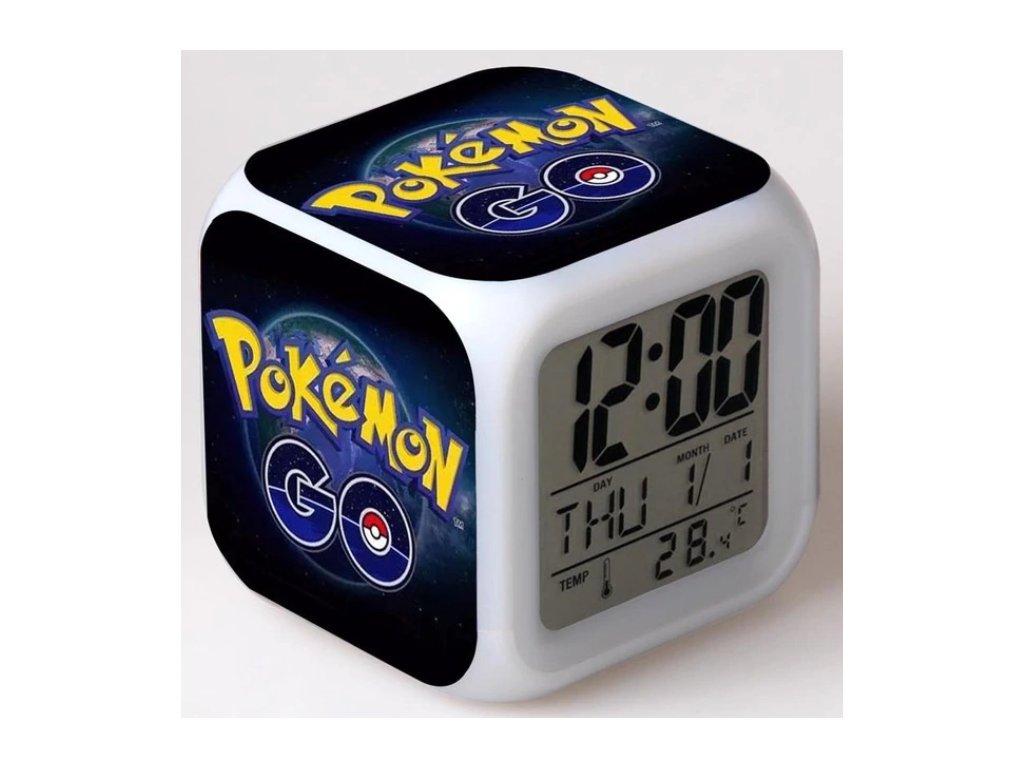 Digitalní hodiny - Pokémon - různé varianty
