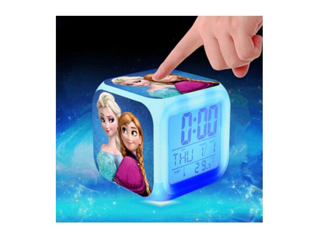 Digitalní hodiny - Ledové království - různé varianty