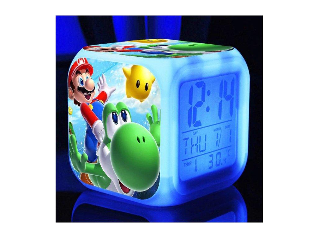 Digitalní hodiny - Super Mario - různé varianty