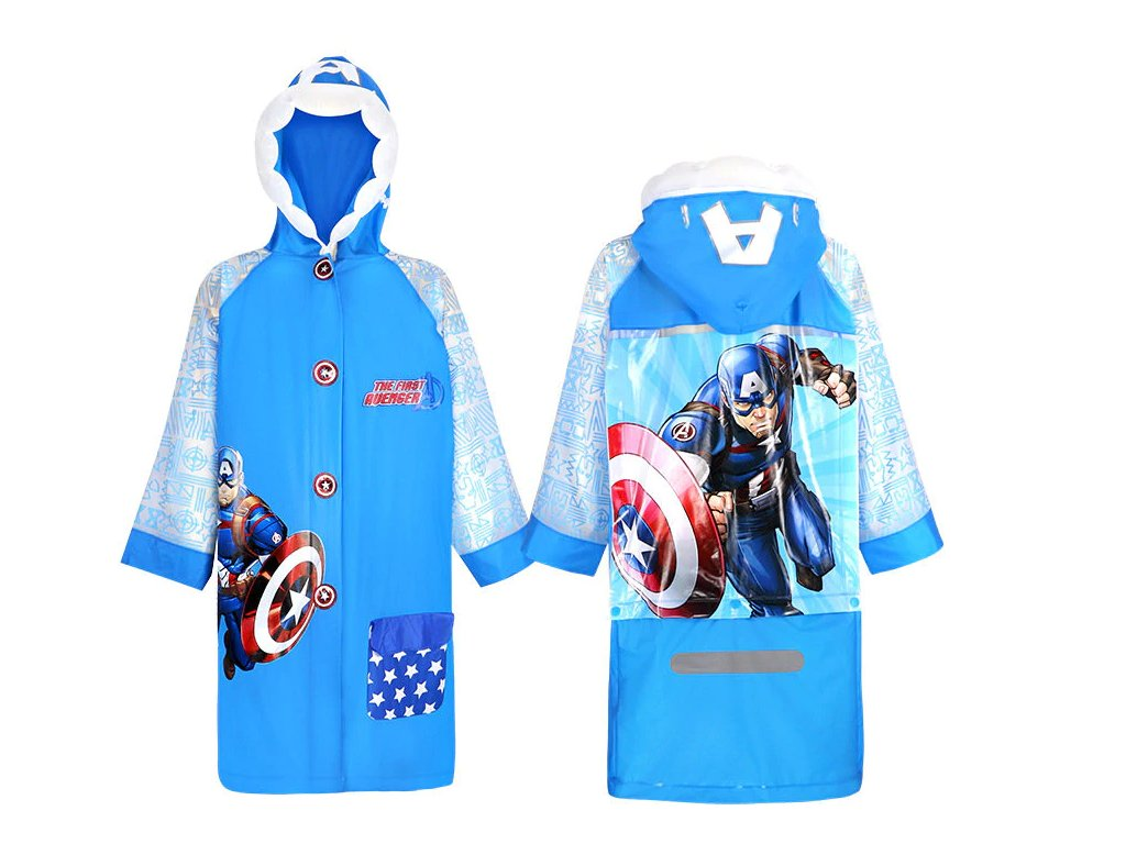 Dětská pláštěnka - Captain America