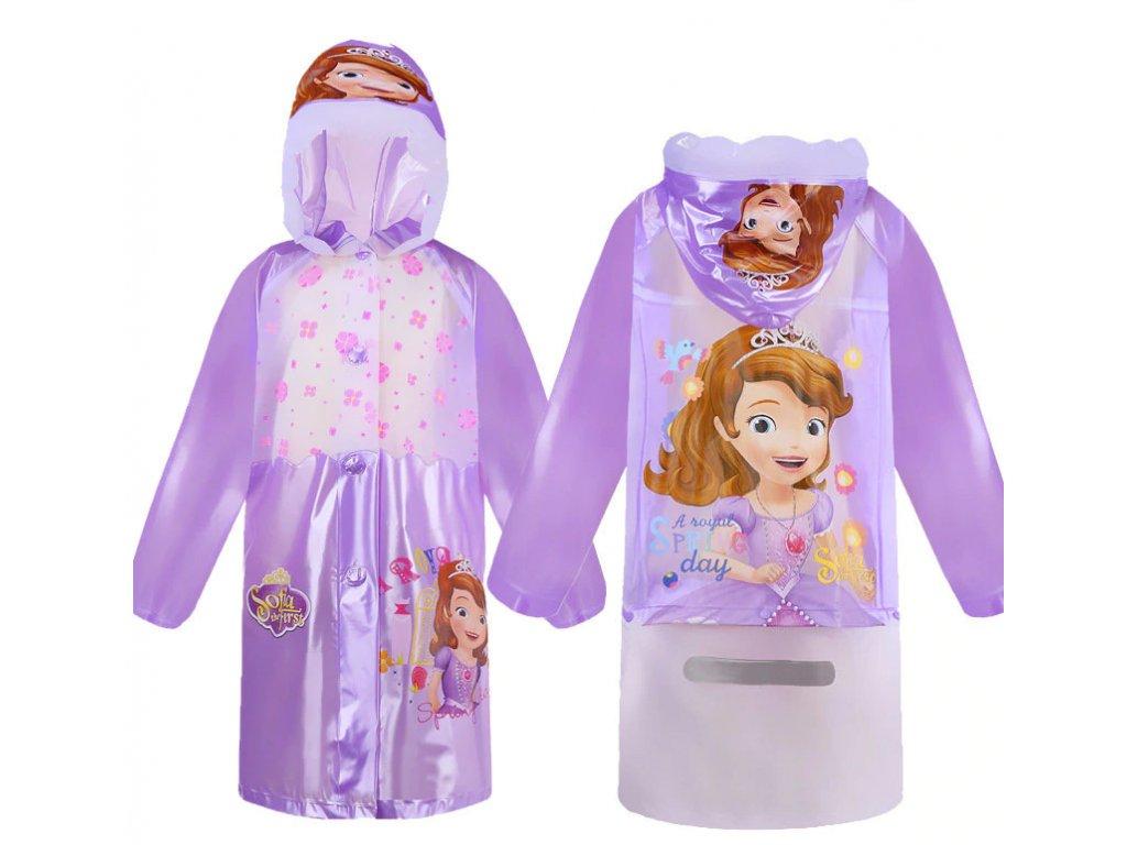 Dětská pláštěnka - Princezna Sofie