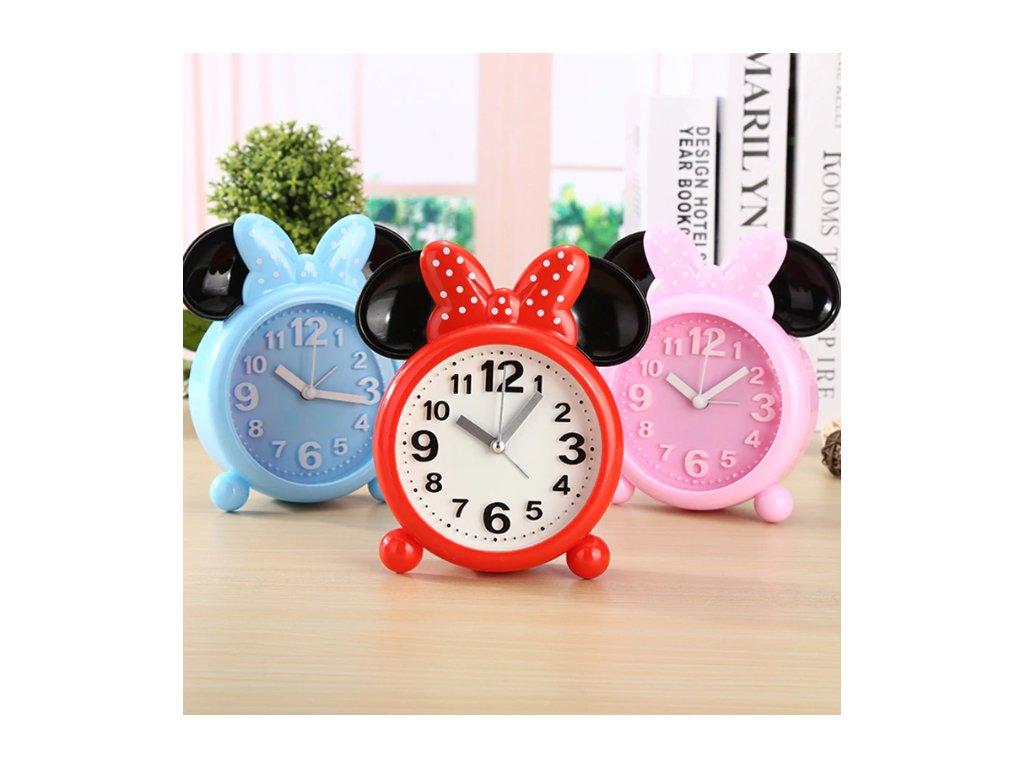 Dětský budík - Mickey Mouse - 3 barvy