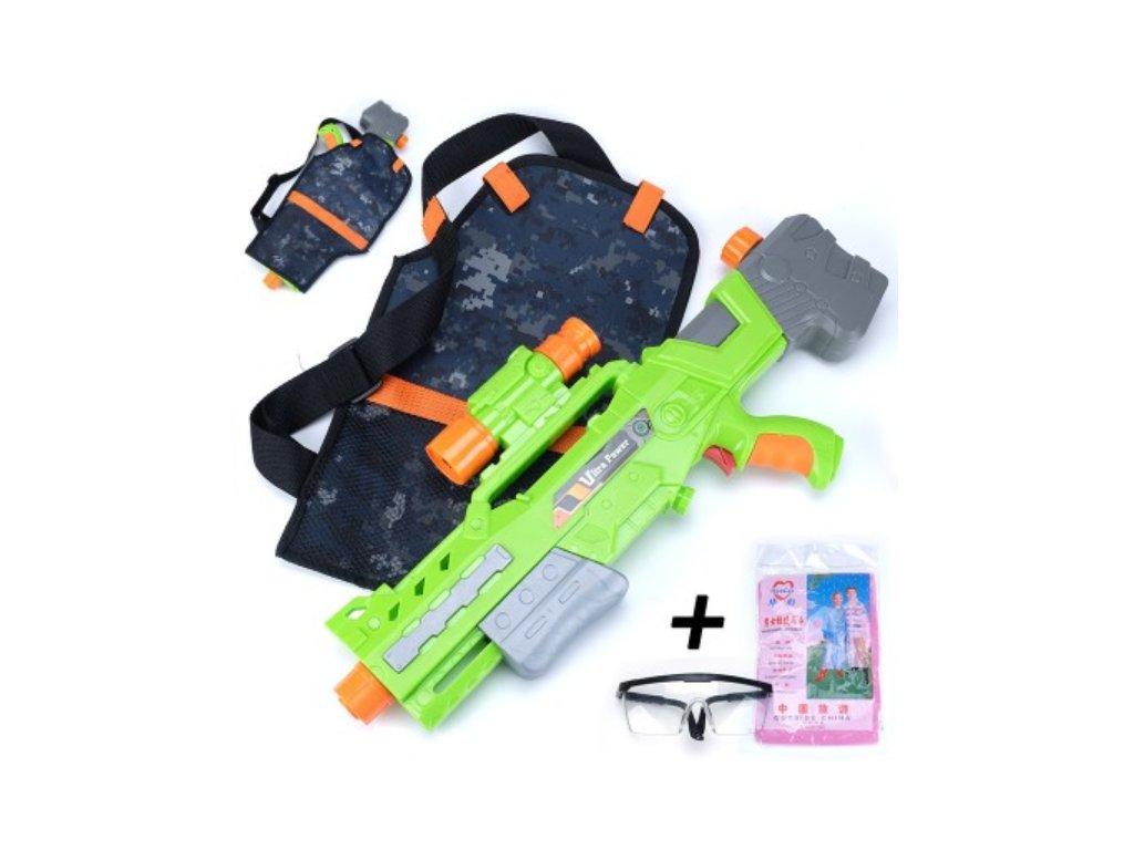 Vodní pistole s vestou - 2 varianty