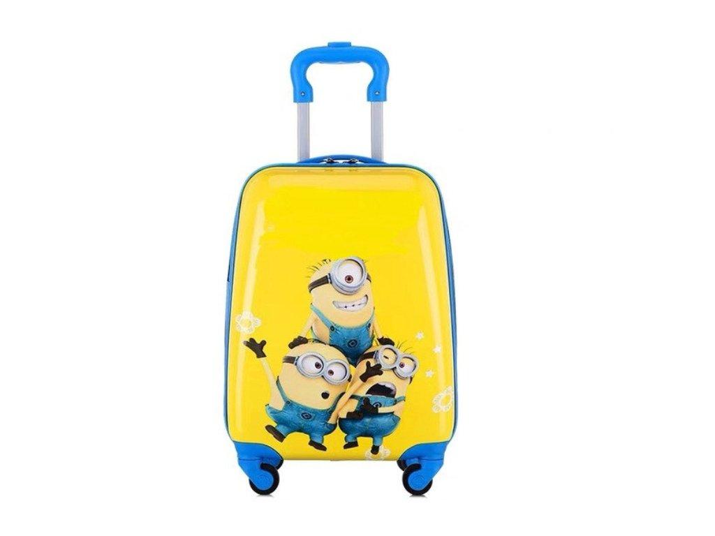 Dětský kufřík na kolečkách - Mimon