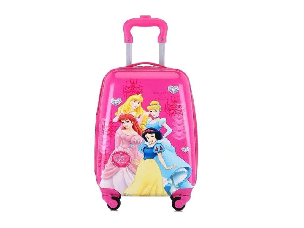Dětský kufřík na kolečkách - Princezny