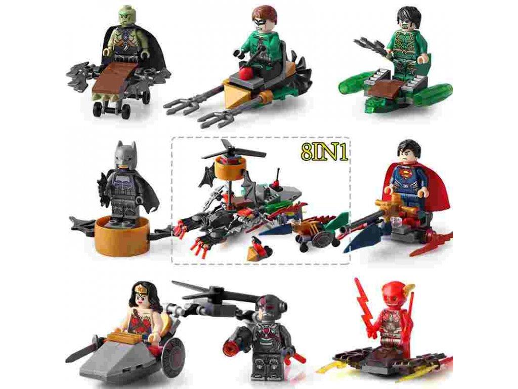 Figurky Marvel Superhrdinové k Lego 8 ks