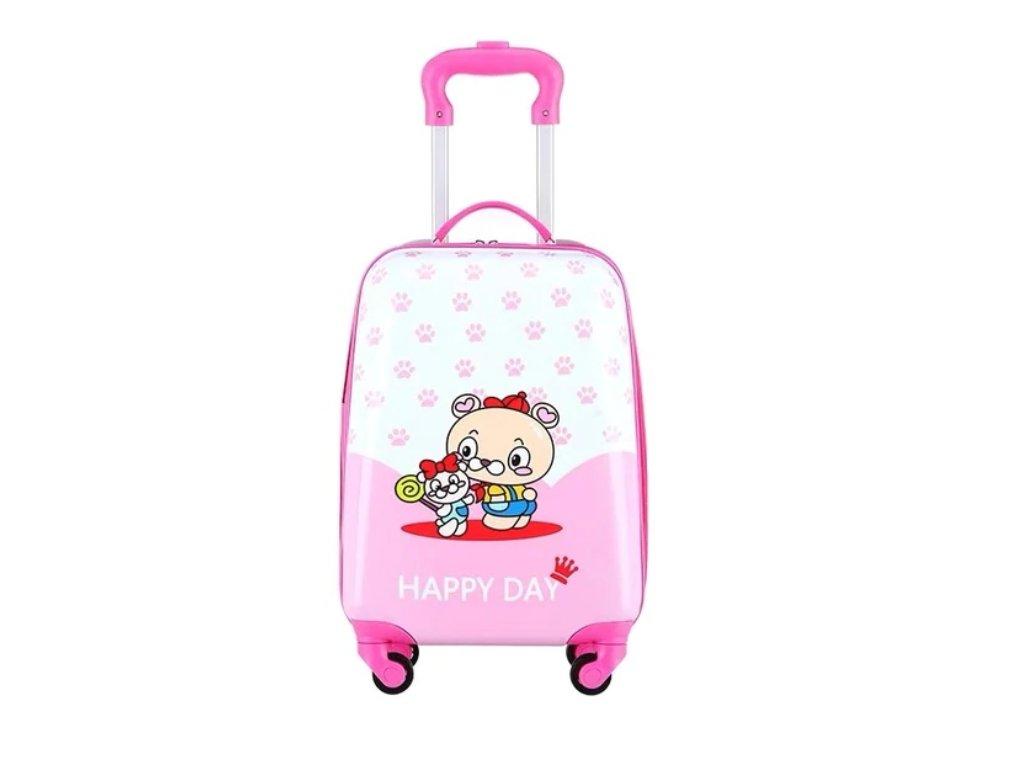 Dětský kufřík na kolečkách