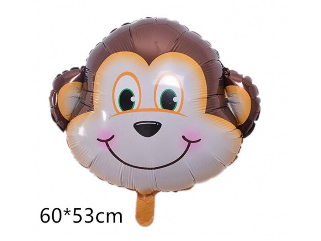 Nafukovací balónek - Opička