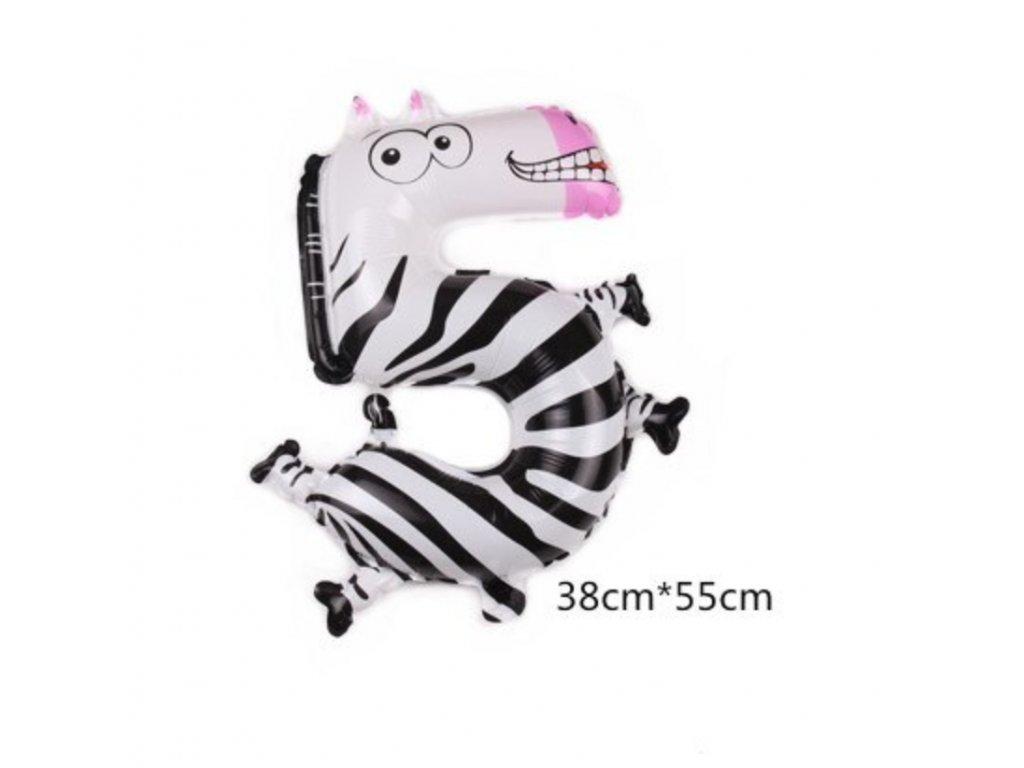 Nafukovací balónek - Zebra