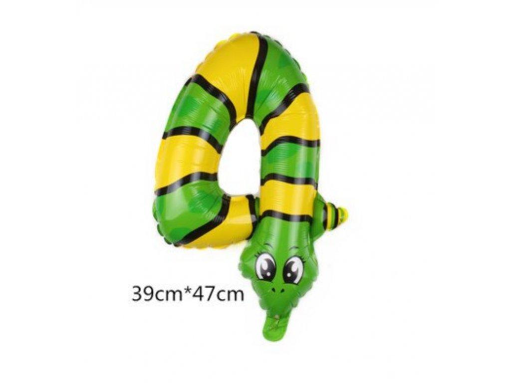 Nafukovací balónek - Had