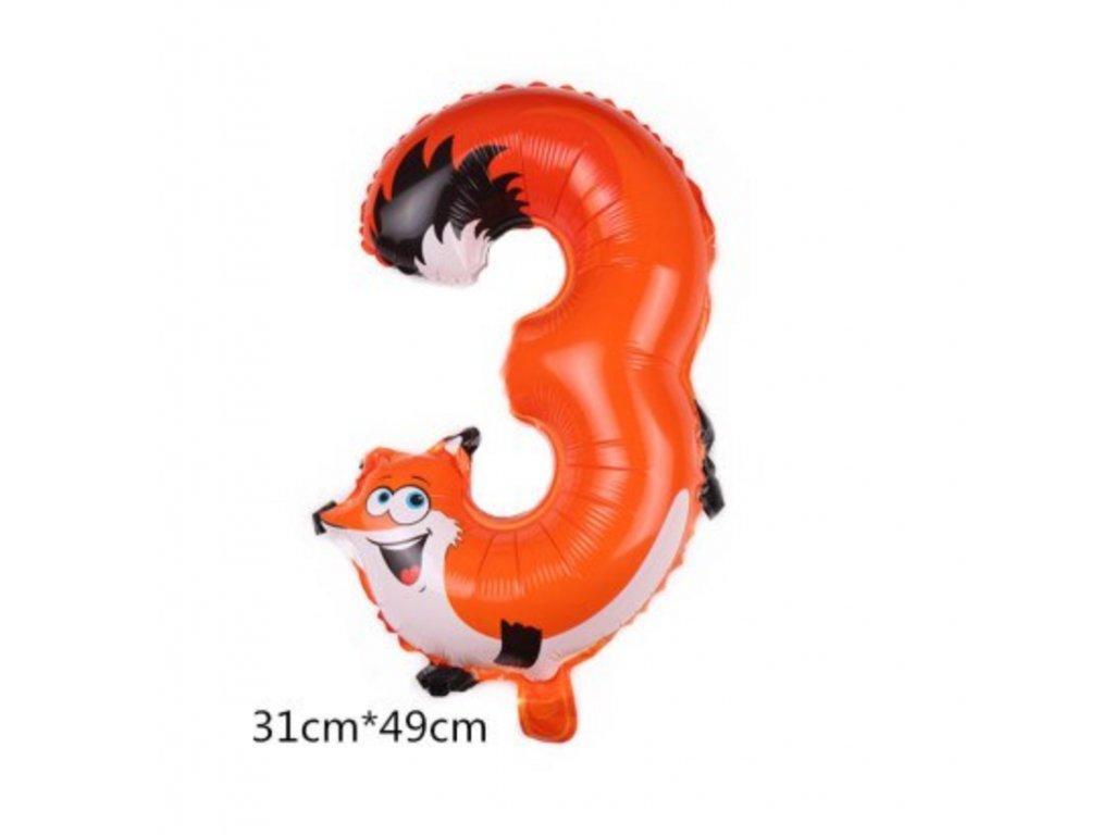 Nafukovací balónek - Liška