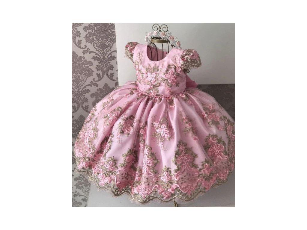 Dětské šaty - Růžové