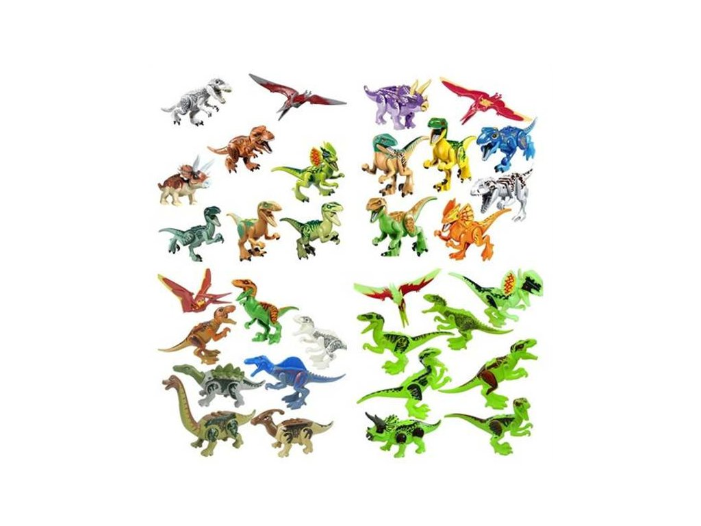 Figurky Jurský svět dinosauři k Lego 32 ks