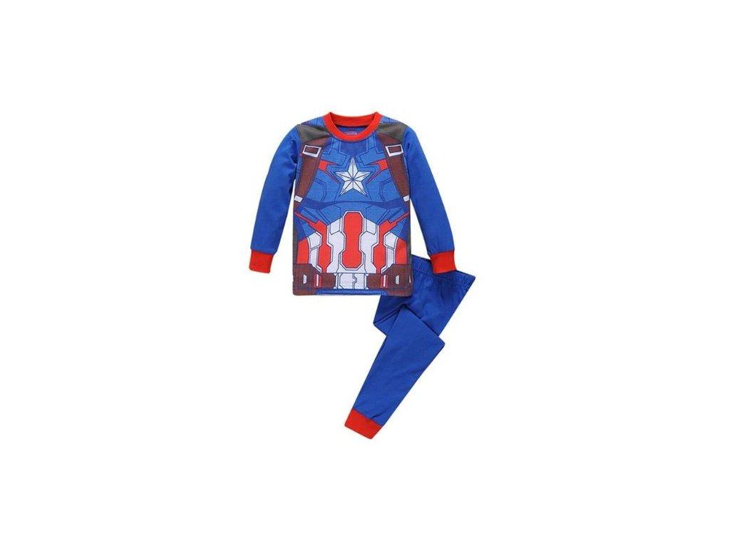 Dětské pyžamo - Captain America - 2 varianty