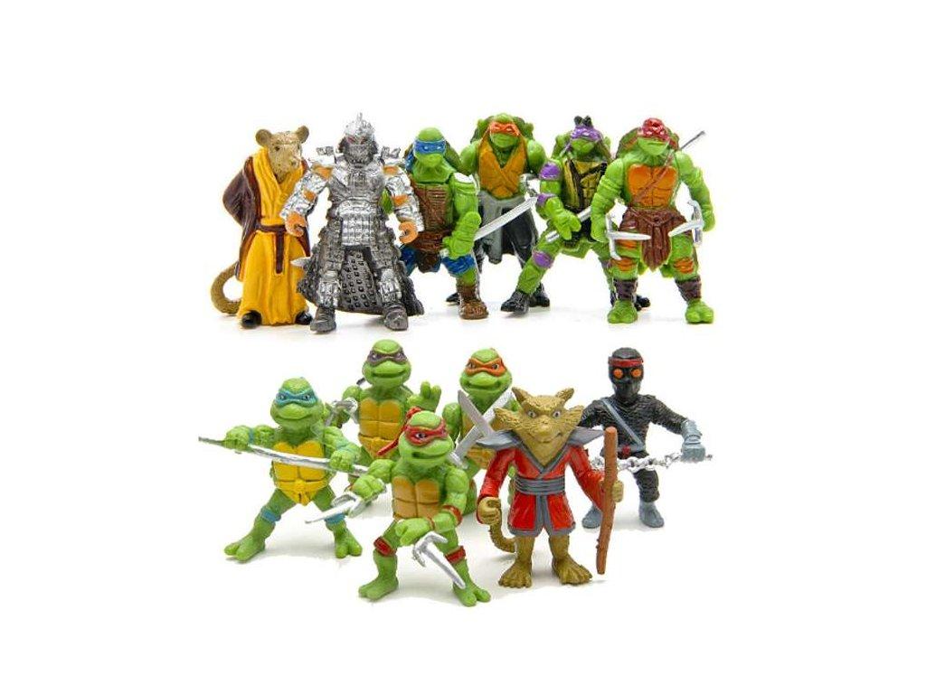 Figurky Želvy Ninja 12 ks