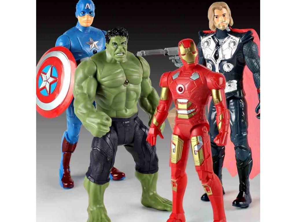 Figurky Marvel 20 cm 4 ks