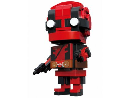 Figurka BrickHeadz - Deadpool