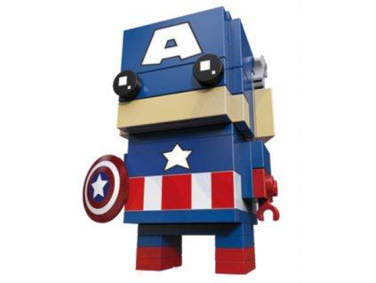 Figurka BrickHeadz - Captain America