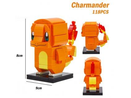 Figurka BrickHeadz - Charmander