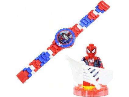 Figurka k Lego Spiderman + hodinky