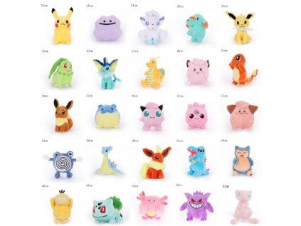 Plyšoví Pokémoni - 28 druhů