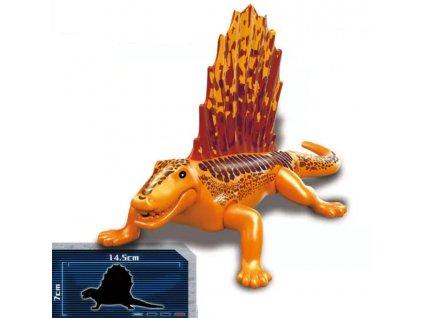 Jurský Park dinosaurus k Lego - Dimetrodon - 15 cm