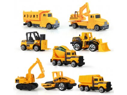 Sada stavebních autíček