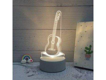 Lampa s 3D iluzí