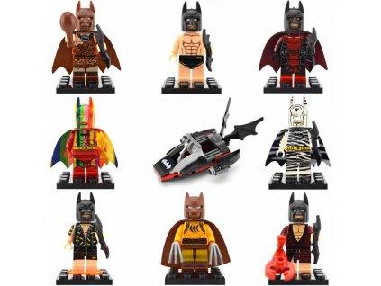 Figurky Batman k Lego 8 ks