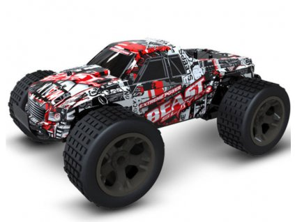 RC Monster Truck - červený