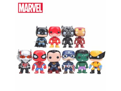 set figurek marvel dc comics 10 ks