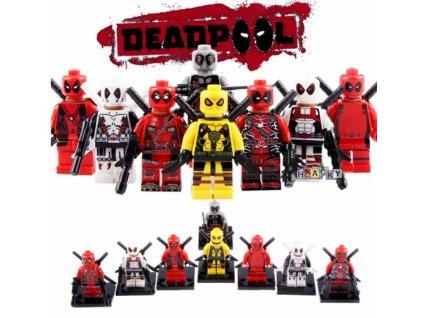 Figurky Deadpool k Lego 8 ks