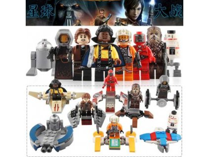 Figurky Star Wars k Lego 8 ks
