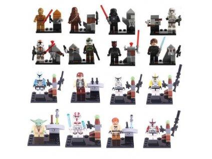 Figurky Star Wars k Lego 16 ks