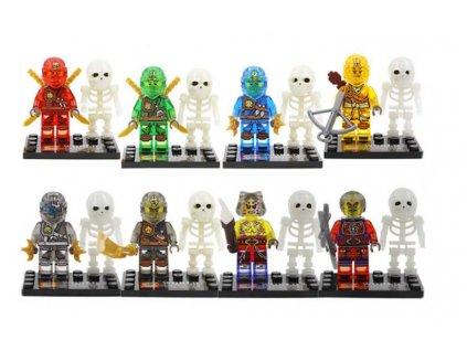 Figurky Ninja k Lego 8 ks