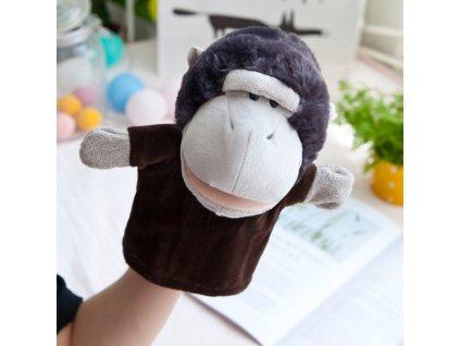 Plyšový maňásek na ruku - Opička