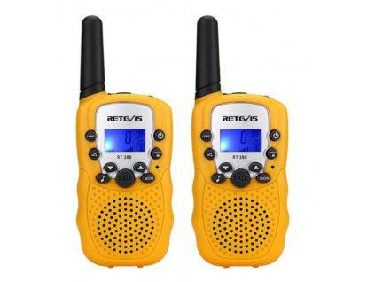 Vysílačka pro děti - žlutá