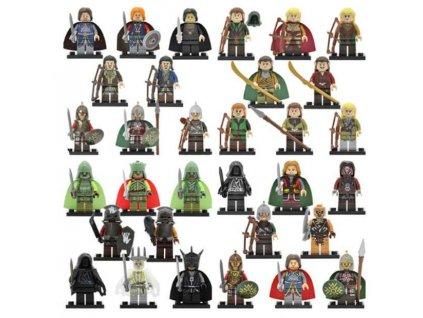 Figurky Hobbit k Lego 32 ks