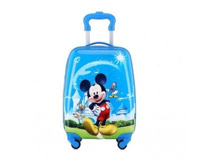 Dětský kufřík na kolečkách - Mickey Mouse